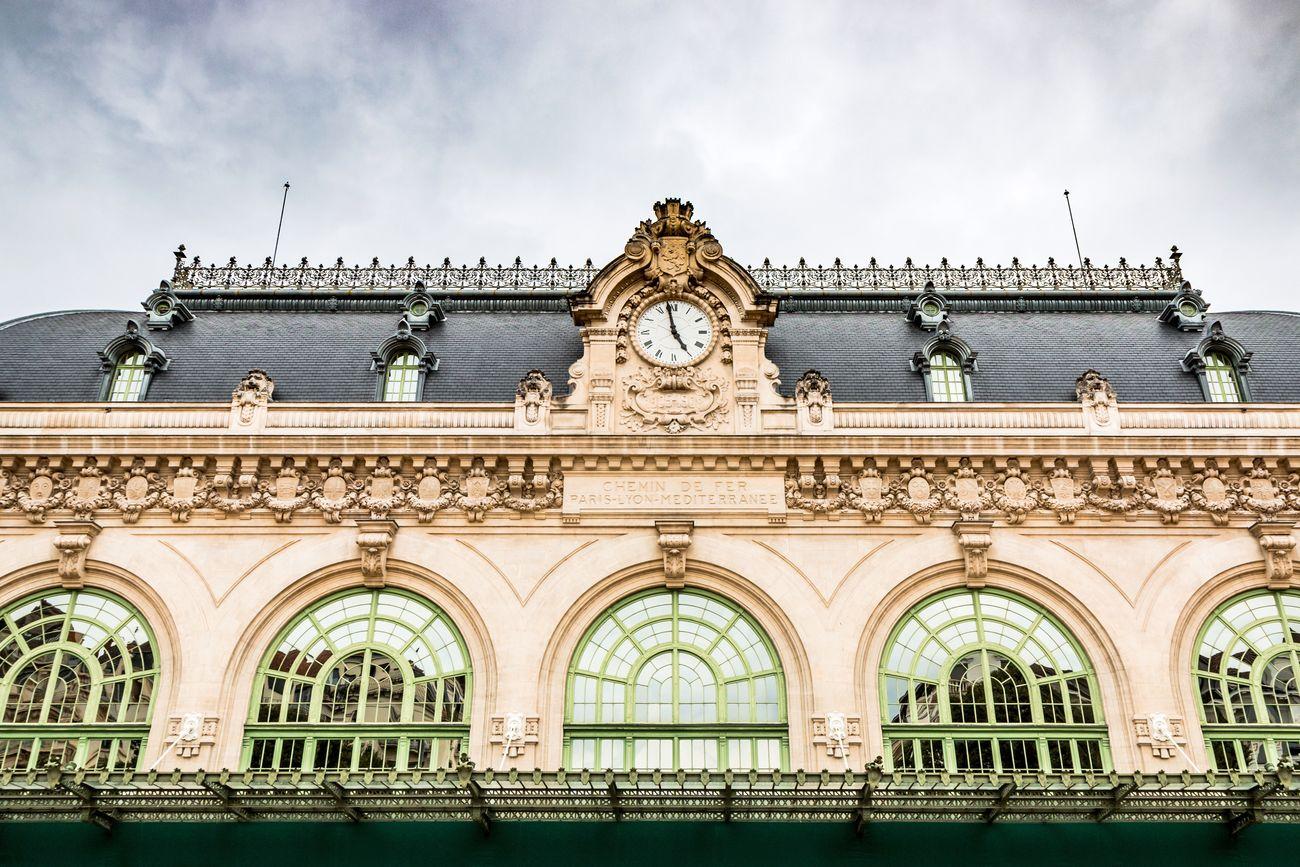 La Gare des Brotteaux à Lyon.