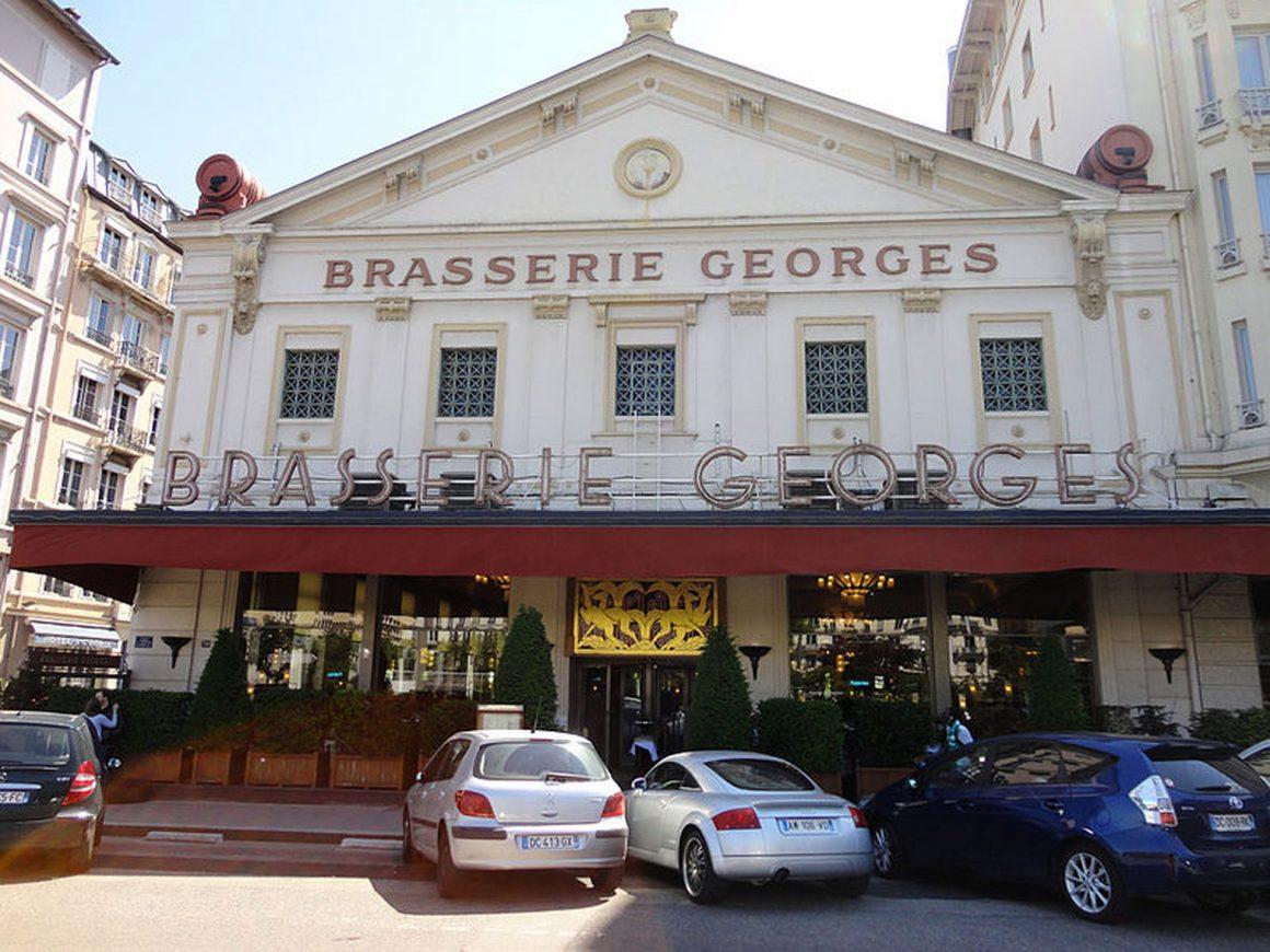 La brasserie Georges à Lyon, une institution depuis 1836