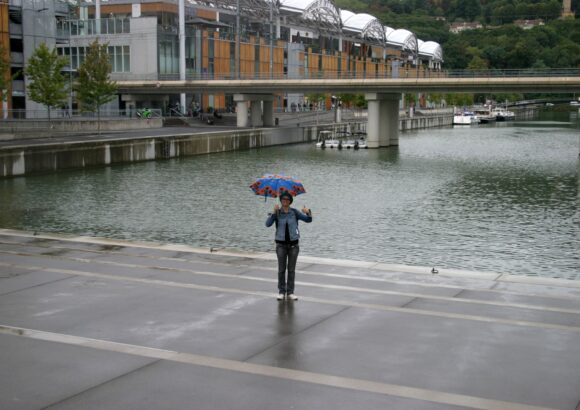 Confluence Sous la pluie
