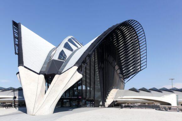 L'aéroport de Saint-Exupéry près de Lyon